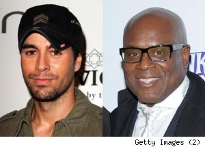 Enrique Iglesias, L.A. Reid