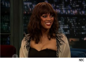 Tyra Banks Talks Harvard Dorms on 'Late Night'
