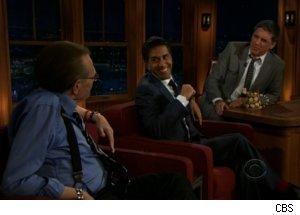 Larry King, Sanjay Gupta on 'Late Late'