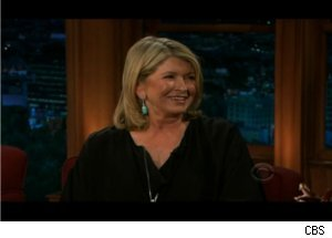 Martha Stewart Gets Saucy on 'Late Late'