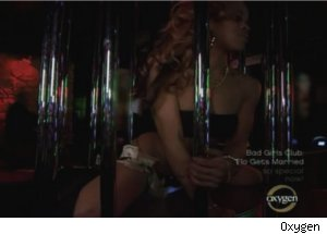 Stripping on 'Bad Girls Club: Flo Gets Married'