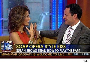 Susan Lucci and Brian Kilmeade on 'Fox & Friends'