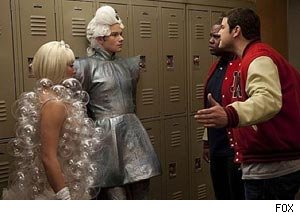 Glee, Born This Way, Lady Gaga