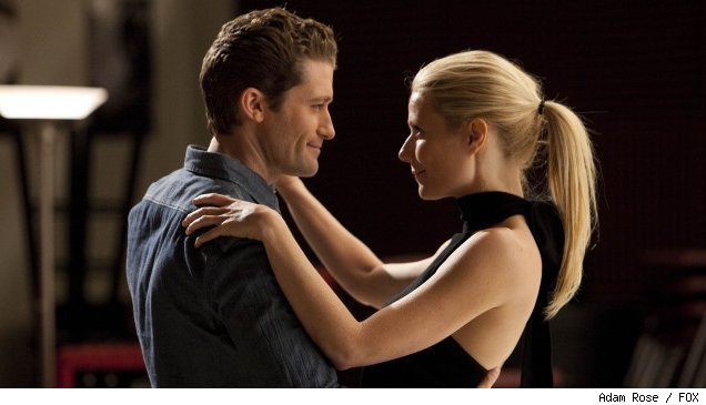 Gwenyth Paltrow and Matthew Morrison in 'Glee' - 'Sexy'