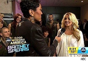 Britney Spears on 'Good Morning America'