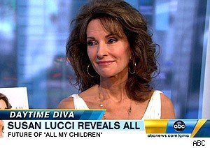 Susan Lucci talks 'All My Children' on 'Good Morning America'