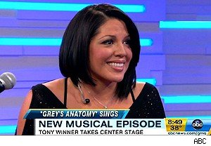 Sara Ramirez on 'Good Morning America'