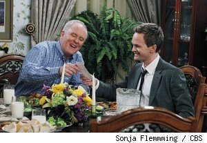John Lithgow and Neil Patrick Harris on 'How I Met Your Mother' - 'Legendaddy'