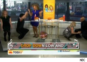 Kathie Lee Has a Dance Mishap on 'Today'