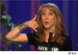 Kathy Griffin Talks Palin Army on '50 & Not Pregnant'