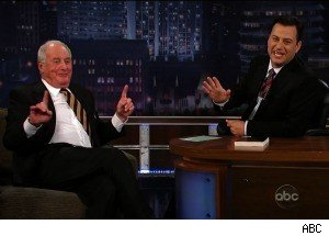 Jerry Weintraub Has a Wife AND a Girlfriend -- Jimmy Kimmel, Brad Pitt, George Clooney, and Matt Damon are Impressed