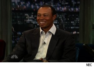 Tiger Woods, 'Late Night with Jimmy Fallon'