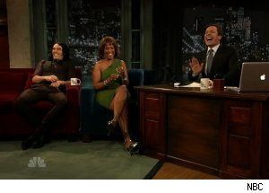 Russell Brand & Gayle King, 'Late Night with Jimmy Fallon'