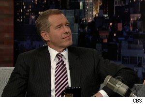 Brian Williams, 'Late Show with David Letterman'