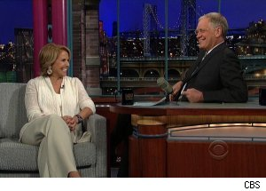 Katie Couric, 'Late Show with David Letterman'