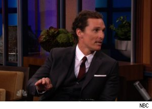 Matthew McConaughey Talks Tom Hanks on 'Tonight'
