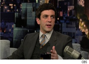 B.J. Novak Talks Meeting Michael Jackson on 'Late'