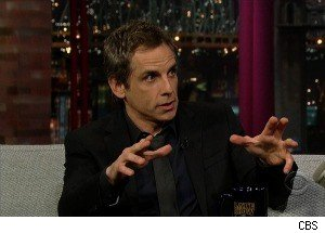 Ben Stiller Tells David Letterman a Ghost Story