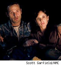 Andrew Lincoln and Sarah Wayne Callies