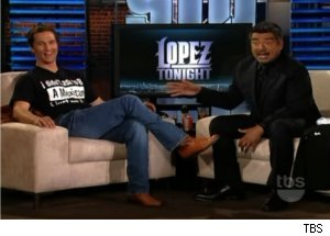 Matthew McConaughey Talks Spanish on 'Lopez Tonight'