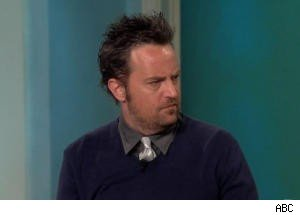 Matthew Perry Enjoys Making Out With Matt LeBlanc's Girlfriend