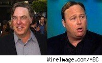 Bruce McGill and Alex Jones