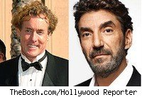 John C. McGinley and Chuck Lorre