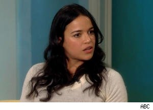 Michelle Rodriguez Says Aliens May Walk Among Us on 'The View'