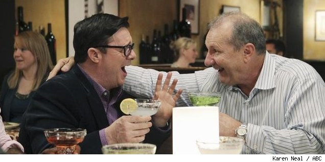 Nathan Lane and Ed O'Neill in 'Modern Family' - 'Boys' Night'