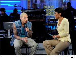 Chris Brown on 'GMA' 03/22/11