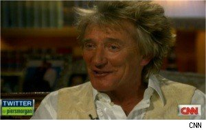 Rod Stewart on 'Piers Morgan Tonight'