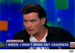 Charlie Sheen, 'Piers Morgan Tonight'