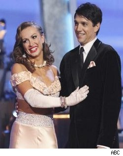 Karina Smirnoff and Ralph Macchio