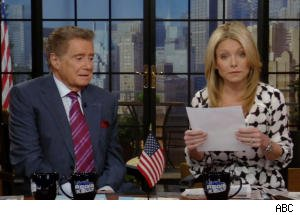 Regis and Kelly Discuss War of Words Between Charlie Sheen and John Stamos