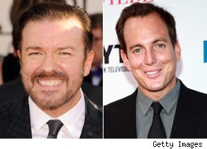 Ricky Gervais, Will Arnett