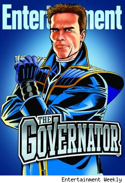 Arnold Schwarzenegger, The Governator, EW