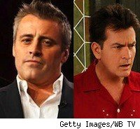 Matt Leblanc and Charlie Sheen