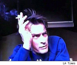 Charlie Sheen on his uStream video