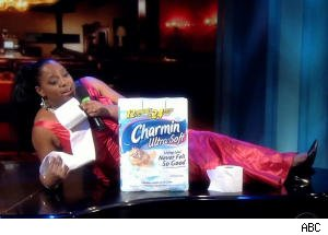 Sherri Shepherd Serenades a Package of Charmin on 'The View'