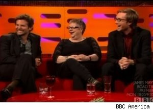Bradley Cooper, Jo Brand, Stephen Merchant, 'The Graham Norton Show'