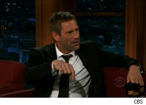 Aaron Eckhart, 'The Late Late Show with Craig Ferguson'