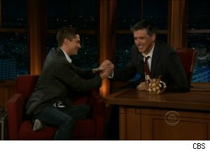 Topher Grace, 'The Late Late Show with Craig Ferguson'