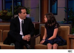 Jerry Seinfeld & Bailee Madison, 'The Tonight Show with Jay Leno'