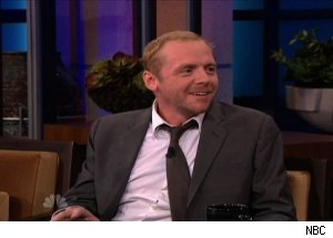 Simon Pegg, 'The Tonight Show with Jay Leno' (VIDEO)