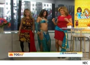 Kathie Lee and Hoda Get a Lesson in Belly Dancing on 'Today'