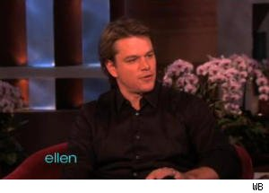 Matt Damon Makes First Appearance on 'Ellen'