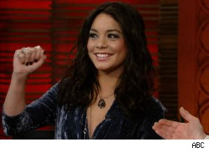 Vanessa Hudgens Shows Off Neck Tattoo on 'Regis and Kelly'