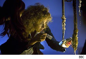 Alex Kingston as River Song on 'Doctor Who'