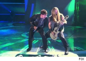 James Durbin &amp; Zakk Wylde, 'American Idol'