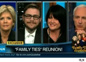 'Family Ties' Reunion on 'Joy Behar Show'